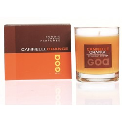 Bougie crème Goa Cannelle Orange